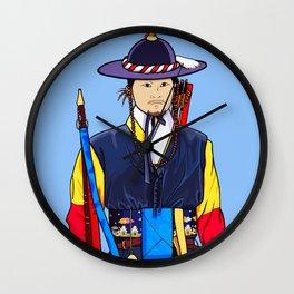 Deoksugung Guard Wall Clock