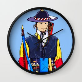 Deoksugung Guard Wall Clock