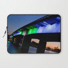 Light the bridge. Laptop Sleeve