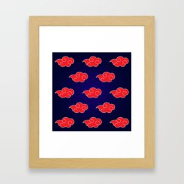 Akatsuki Suit Framed Art Print