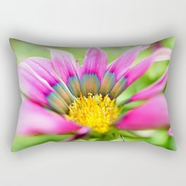 Bright Multi-color African Daisy Rectangular Pillow
