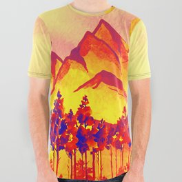 Landscape #05 All Over Graphic Tee