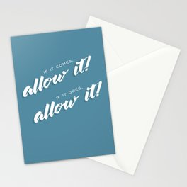 Allow it! Stationery Cards