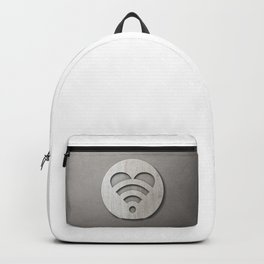 LOVE is all around - Wooden 3D Sign Backpack