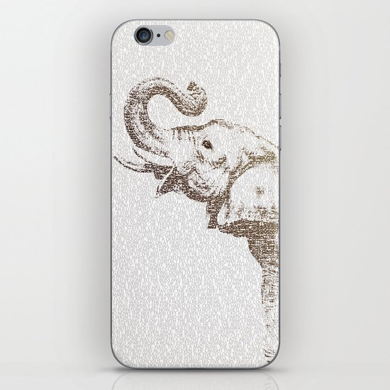 The Wisest Elephant iPhone & iPod Skin