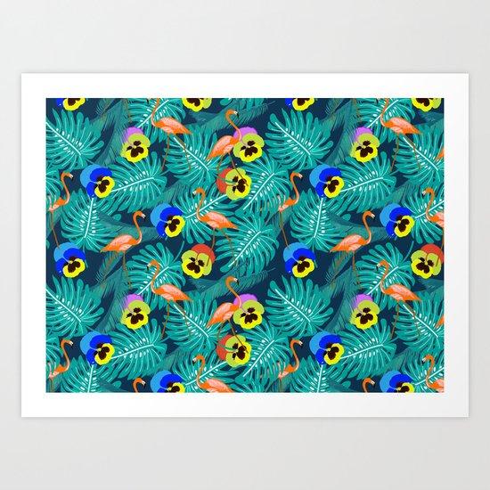 Summer tropical I Art Print