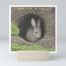 Rabbit 2 Mini Art Print