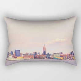 Perfect Day - New York City Skyline Rectangular Pillow