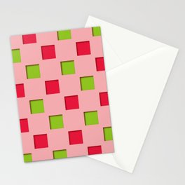 Japanese checkered pattern #10 Stationery Cards