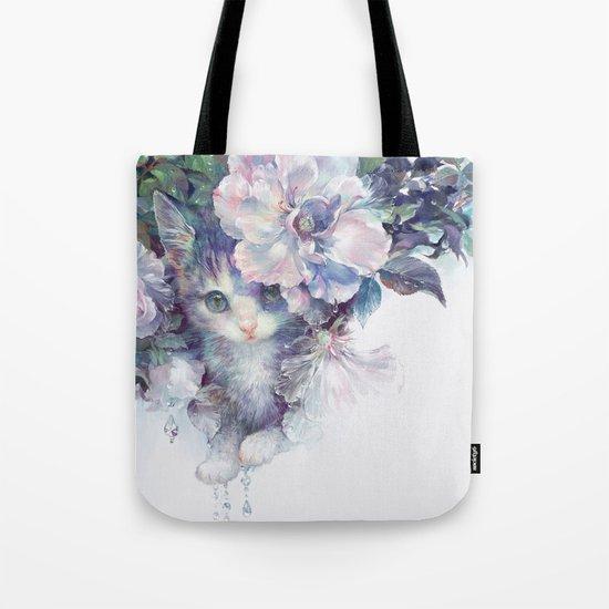 secret behind flowers Tote Bag