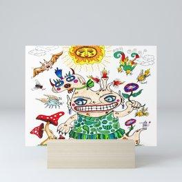 She-Beast and Friends Mini Art Print