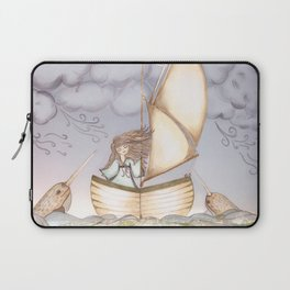 Spirit of the Narwhal Laptop Sleeve