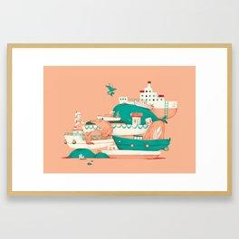 Oskar print #3 Framed Art Print