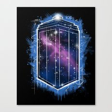 Time, Space, and Graffiti  Canvas Print