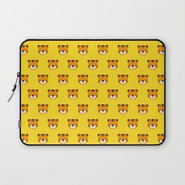 Tilly the Tiger Pattern Laptop Sleeve