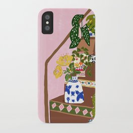 Bohemian stairs iPhone Case