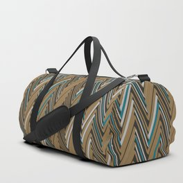 Abstract Chevron III Duffle Bag