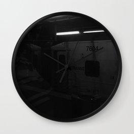 Train In Vain Wall Clock