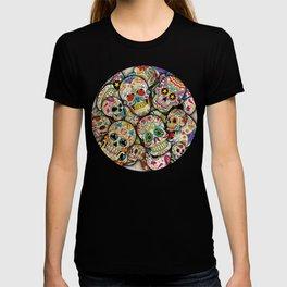 Sugar Skull Collage T-shirt