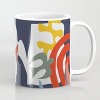 matisse Mugs featuring Inspired to Matisse by Chicca Besso