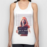red riding hood Tank Tops featuring Red Riding Hood by adroverart