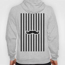 Stripy 'Stache Hoody