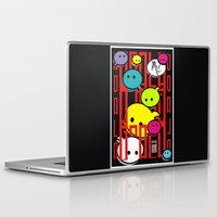 comic Laptop & iPad Skins featuring COMIC  by _Moj_