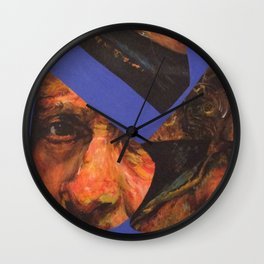 Rembrant in Pieces Wall Clock