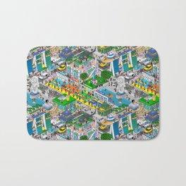 Pixels X Singapore Bath Mat