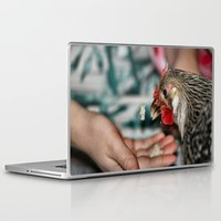 bread Laptop & iPad Skins featuring Magic Bread by IowaShots