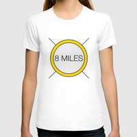 miles davis T-shirts featuring 8 miles by Thomas Official
