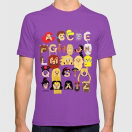 Princess Alphabet T-shirt