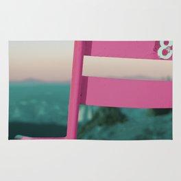 Pop Art 80's Chair Lift Rug