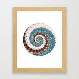 Infinity Spiral Framed Art Print