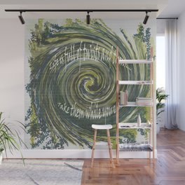 Life is full of twists and turns..take them while you can. Wall Mural
