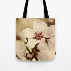 Apricot Bloom Tote Bag