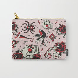 Old School Tattoo Carry-All Pouch