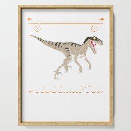 Distanceraptor/Timeraptor = Velociraptor Serving Tray
