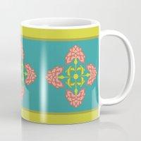 flora Mugs featuring Flora by nandita singh
