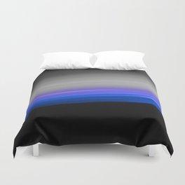 Blue Purple Grey Black Ombre Duvet Cover