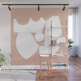 Shape study #16 - Inside Out Collection Wall Mural