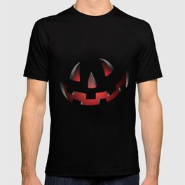 Pumpkin Head Red T-shirt
