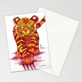 Tiger Stationery Cards