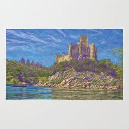 Almourol, Knights Templar fort Rug