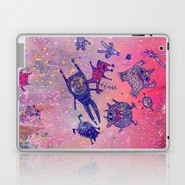 levitating monsters Laptop & iPad Skin