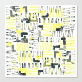 Tetris ropes Canvas Print