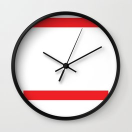 Muay Thai Strikers Nak Muay Fighter Wall Clock