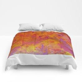 Rhubarb and custard wars Comforters