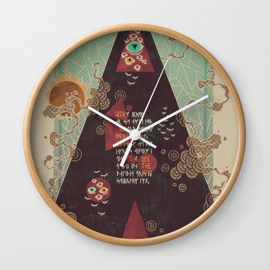 Coded Wall Clock