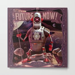 Future is Now! Metal Print